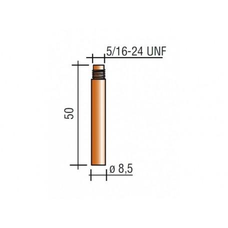 PUNTA 2,4 5/16-24 UNF - Cu