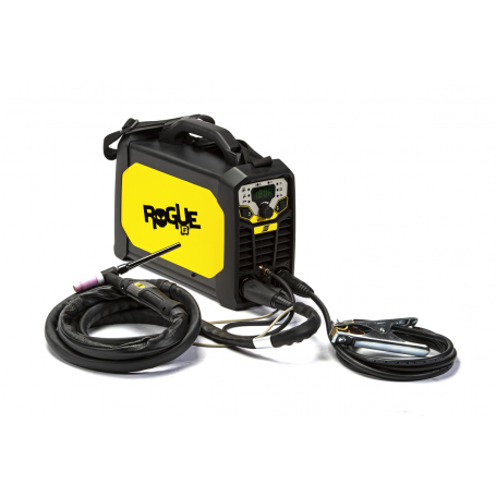 ESAB ROGUE ET 200iP SALDATRICE TIG PULSATA AD INNESCO ALTA FREQUENZA 200A PRONTA ALL'USO