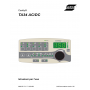 ESAB Caddy Tig 2200i AC/DC PANNELLO TA34 COMPLETA DI TORCIA 4 MT.