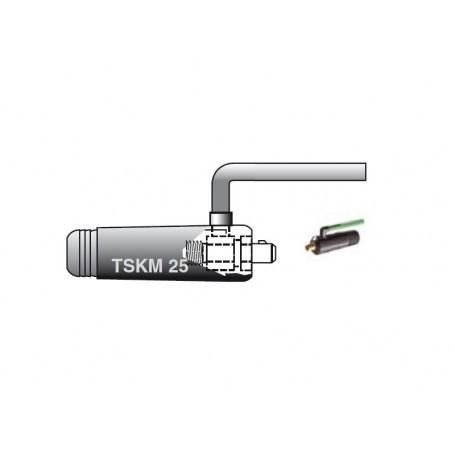 SPINA VOLANTE TIG 10/25 M12X1 TUBO GAS DA 2M