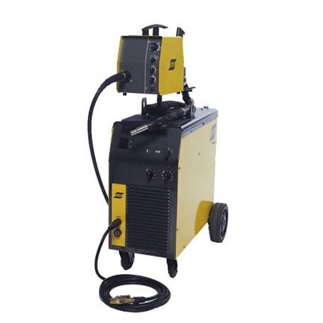 Esab Origo™ Mig L405  impianto mig trifase a scatti raffr.acqua con traino separato 4 rulli